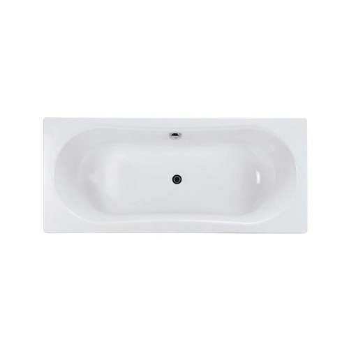 Gala Emma Square 1800 Pressed Metal Inset Bath