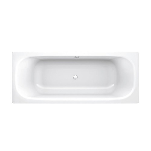 Gala Fedra Max 1700 Centre Waste Pressed Metal Bath