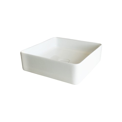 Xoni 400 Thin Square Above Counter Basin Gloss White