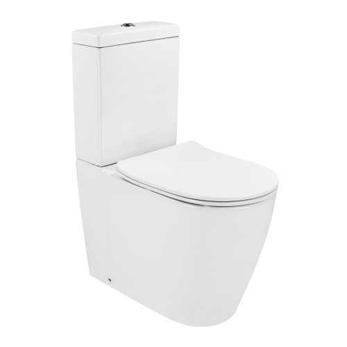 Synergii Back Inlet Toilet Suite with Slim Line Seat