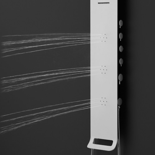 Synergii Shower Panel - right side operation
