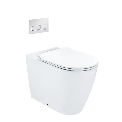 Synergii Wall Faced Toilet Suite With Xoni Flush Panel