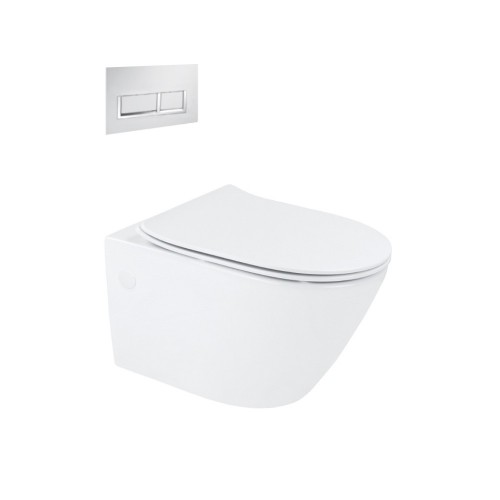 Synergii Wall Hung Toilet Suite With Xoni Flush Panel