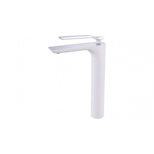 Arcisan Synergii Extended Height Basin Mixer - White/Chrome Trim