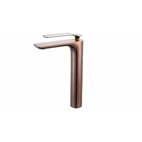 Synergii Extended Height Basin Mixer - Brushed Rose Gold
