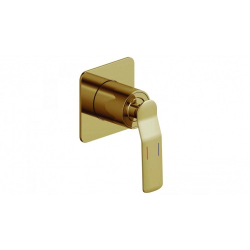 Arcisan Synergii Shower/Bath Mixer - Brushed Brass PVD
