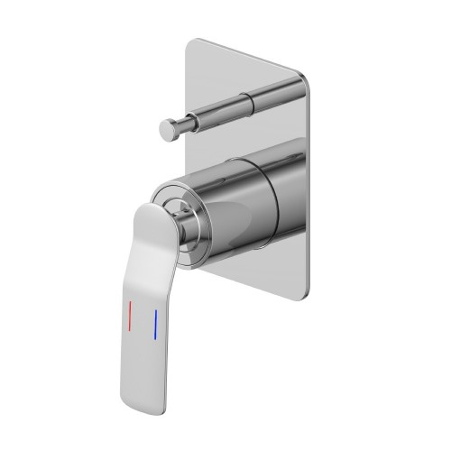 Synergii Shower or Bath Mixer with Diverter Button