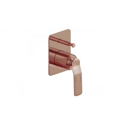 Arcisan Synergii Bath/Shower Mixer with Diverter - Brushed Rose Gold PVD