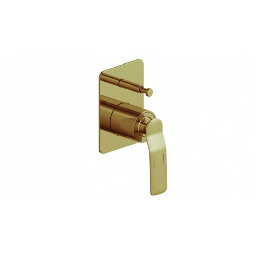 Arcisan Synergii Bath/Shower Mixer with Diverter - Brushed Brass PVD