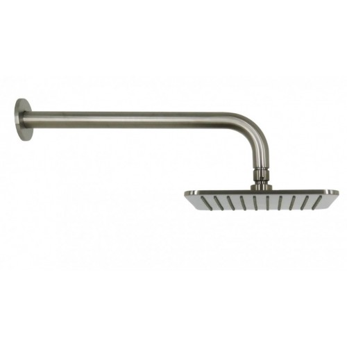 Arcisan Square Satin Nickel Wall Mounted Shower Head