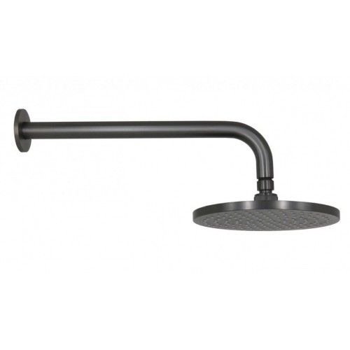 Arcisan Brushed Gun Metal Wall Mounted Shower Head