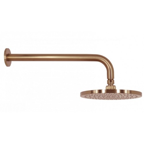 Arcisan Brushed Rose Gold PVD Wall Mounted Shower Head