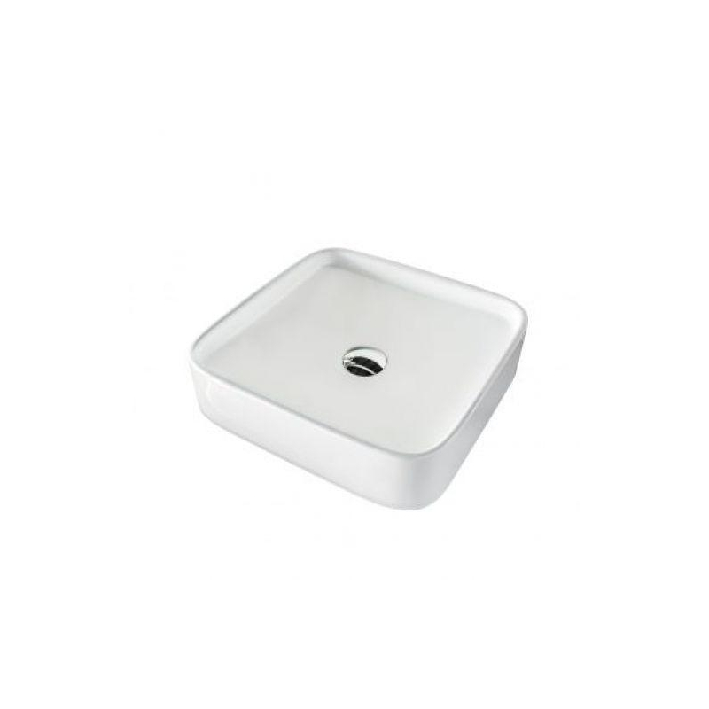 Tempo 40 White Gloss Above Counter Basin