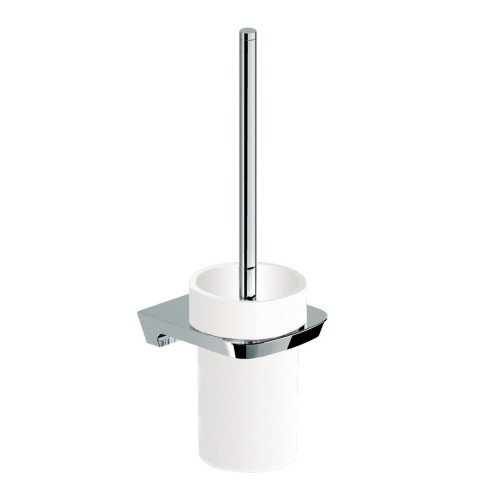 Synergii Toilet Brush with Ceramic Holder