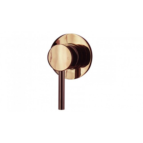 Arcisan Axus Pin Lever Bath/Shower Mixer - Rose Gold PVD