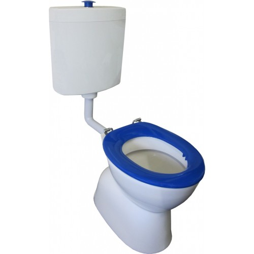 Select Assist Special Needs S Trap Pan with Plastic Cistern