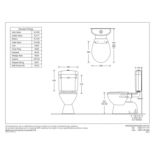 Select Ambulant Toilet Suite