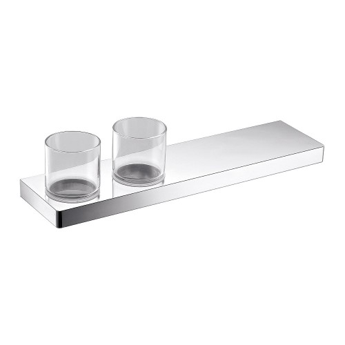 Arcisan Eneo Shelf with Double Glass holder 40cm