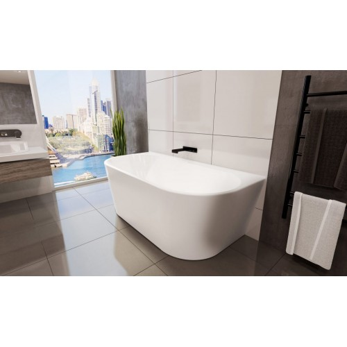 Decina Alegra 1400 Back To Wall Free Standing Bath