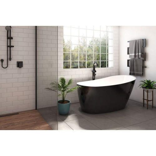 Decina Piccollo 1500 Free Standing Bath/Black