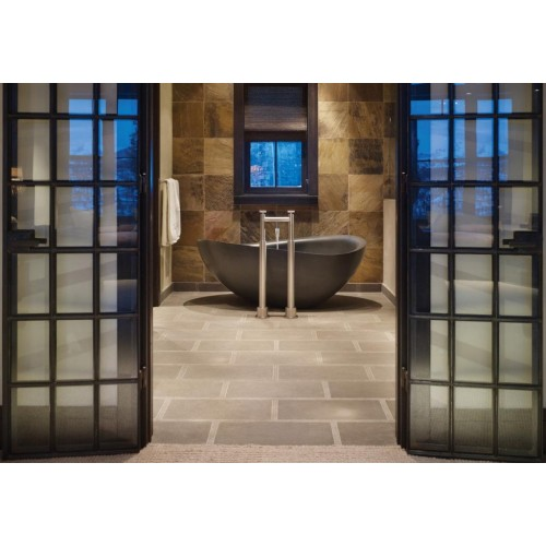 Mamo Atollo Black Marble Bath