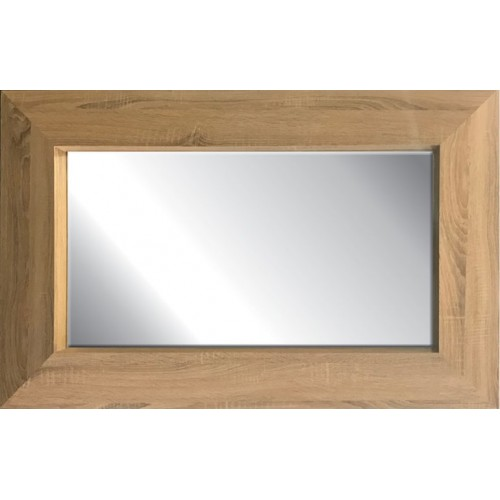 Bailey Timber Finish PU Framed Mirror