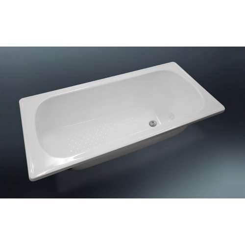 Nueva Pressed Metal Bath 1600mm