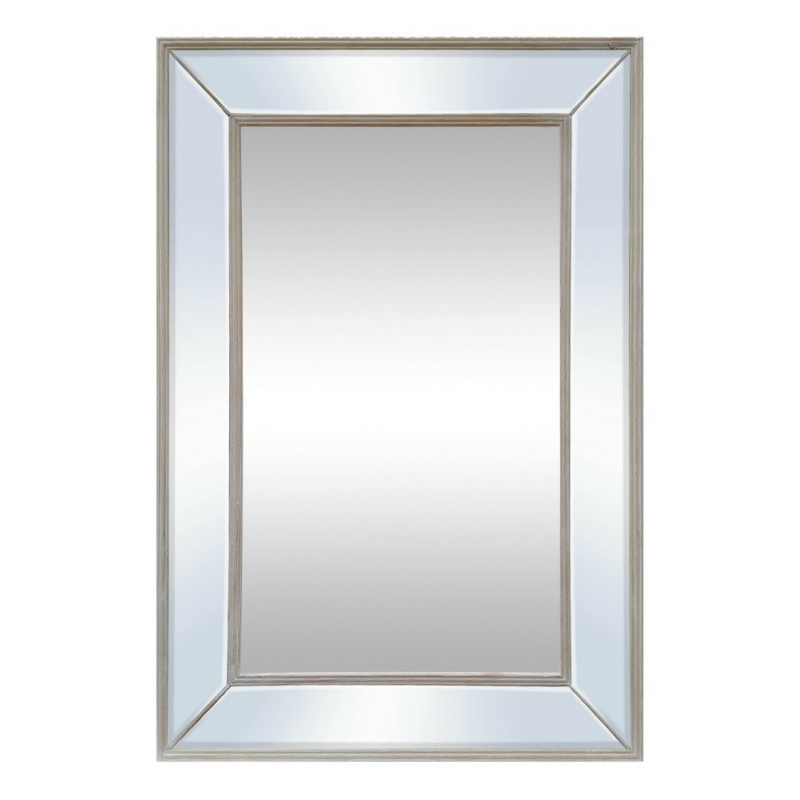 Elle - Natural Wash Wall Mirror