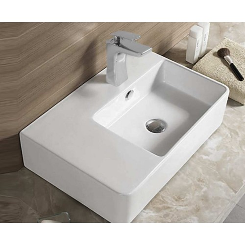 Bellagio Soft 615mm Bench/Wall Basin Right Hand Bowl