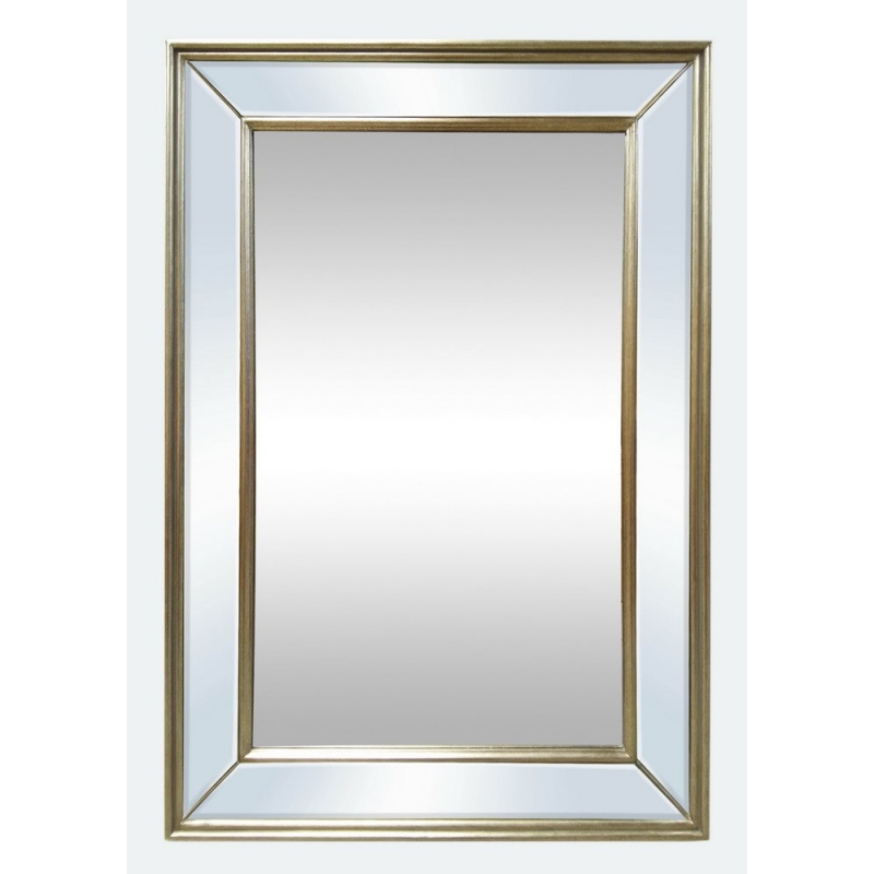 Elle - Champagne Wall Mirror