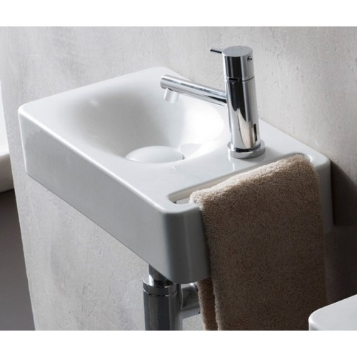 Scarabeo 400mm Wall Hung Basin