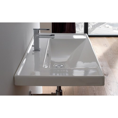 Scarabeo 920mm Wall Bench Basin ML