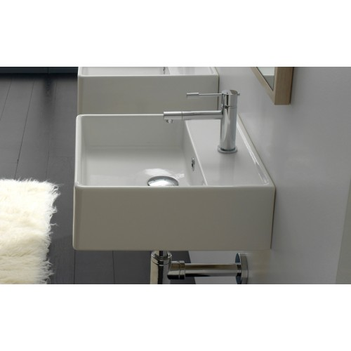 Scarabeo 410mm Wall Bench Basin