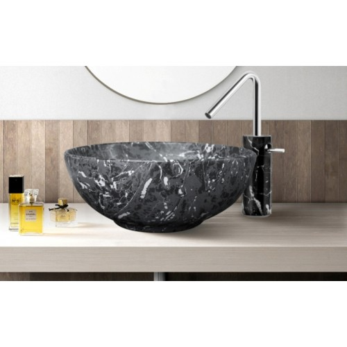 Scarabeo 395mm Marmo Bench Basin