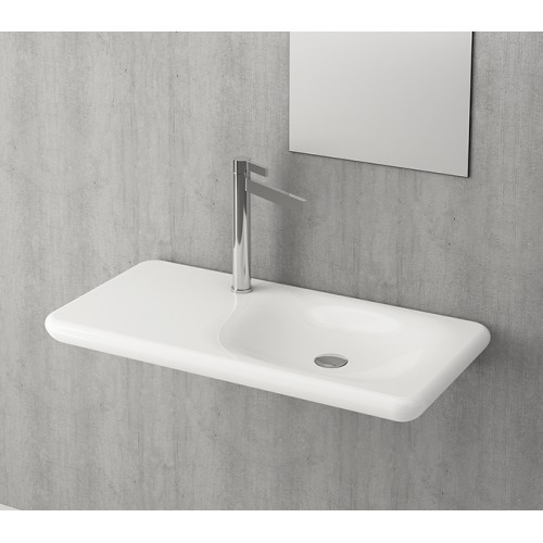 Bocchi Fenice Shelf Basin/Gloss White