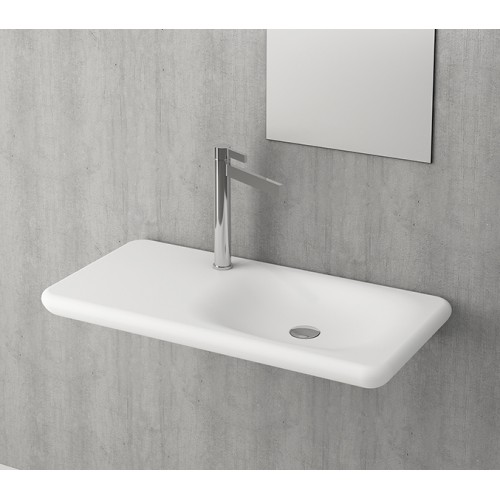 Bocchi Fenice Shelf Basin/Matte White