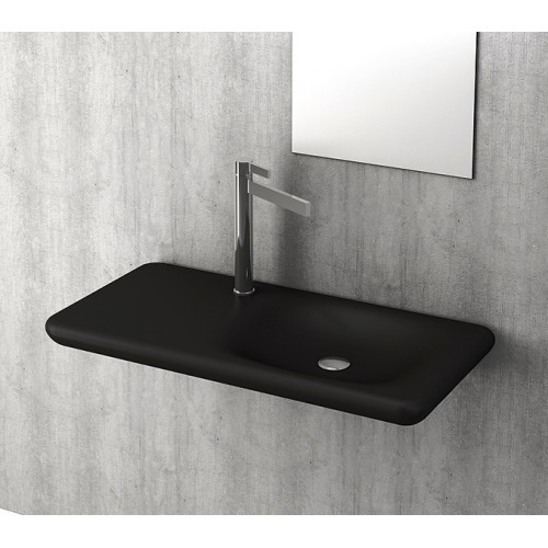 Bocchi Fenice Shelf Basin/Matte Black