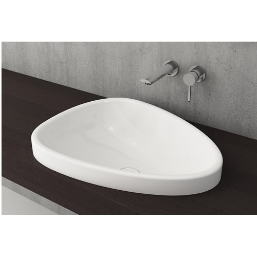 Etna 580mm Drop In Basin/Gloss White