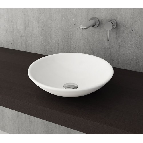 Lucca 400mm Vessel Basin/Gloss White