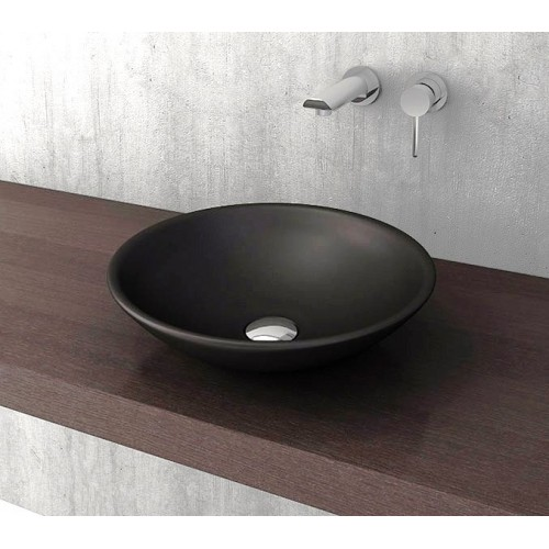 Lucca 400mm Vessel Basin/Matte Black