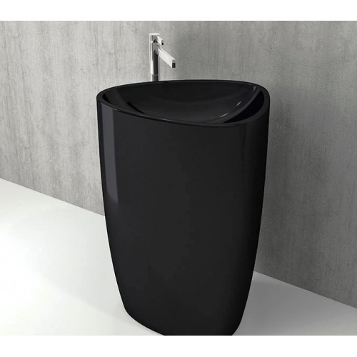 Etna 580mm Free Standing Basin/Gloss Black