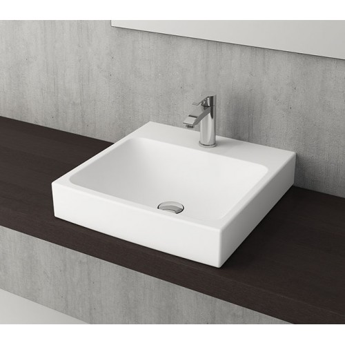 Scala Arch 480mm Wall Basin/Matte White