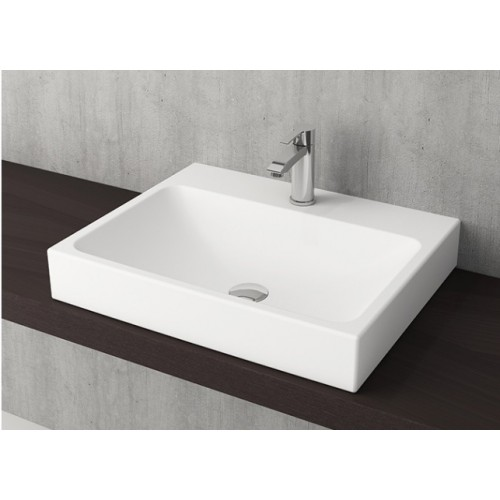 Scala Arch 600mm Wall Basin/Matte White