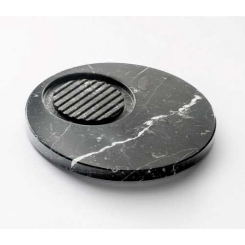 Marmo Soap Holder Black Marquina