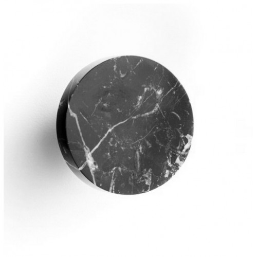 Marmo Robe Hook Black Marquina