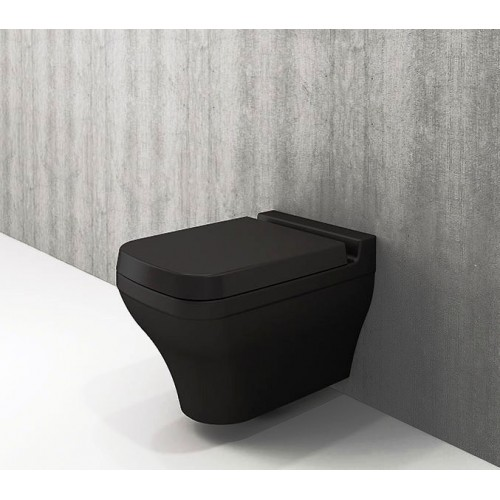 Bocchi Scala Wall Hung Pan/Matte Black