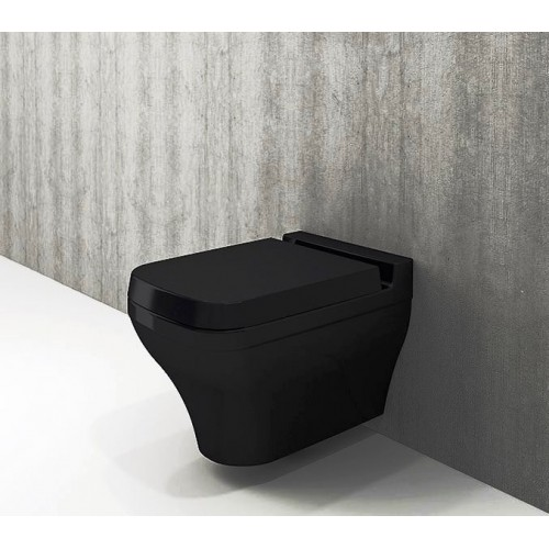 Bocchi Scala Wall Hung Pan/Gloss Black