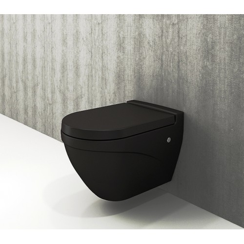 Bocchi Taormina Wall Mount Pan/Matte Black