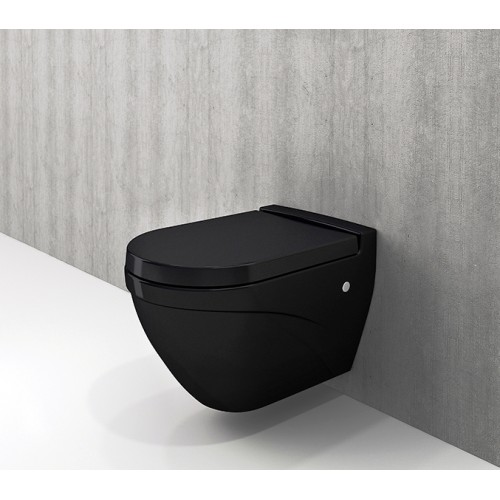 Bocchi Taormina Wall Mount Pan/Gloss Black