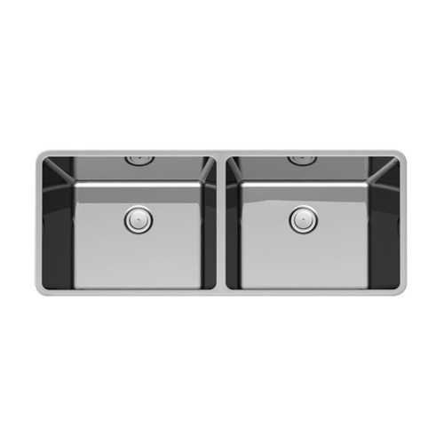Paco Jaanson Corsica 790mm Double Bowl Inset Sink